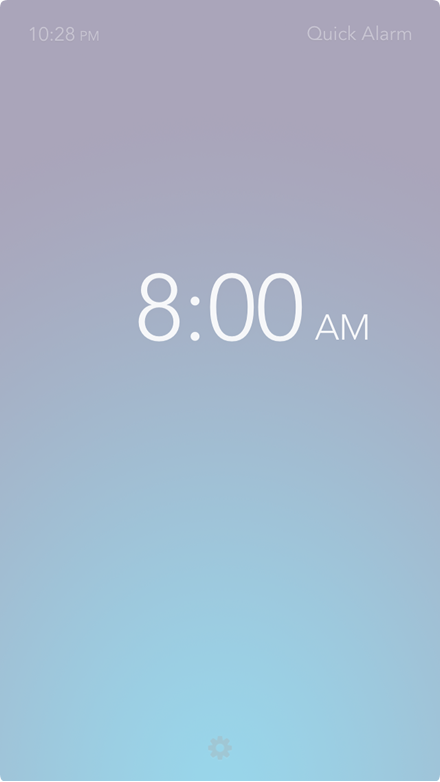 Rise - An Alarm Clock That Is Refreshingly Simple / iPhone